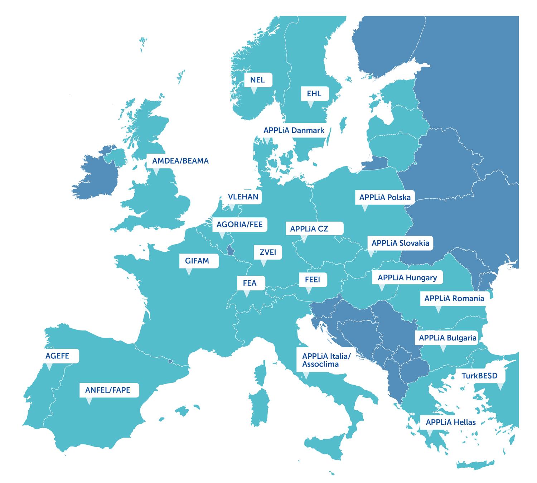 APPLiA w Europie