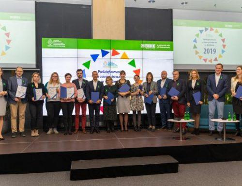 """APPLiA wyróżniona podczas spotkania Partnerstwa SDGs """"Razem dla środowiska"""""""