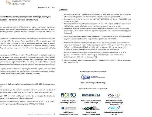 Przemysł AGD popiera postulaty antykryzysowe Forum Rozwoju Przemysłu