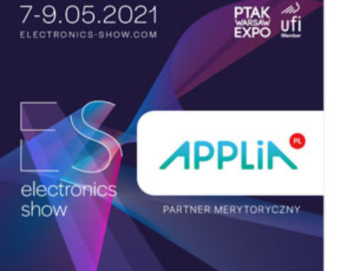 APPLiA partnerem Electronics Show 2021