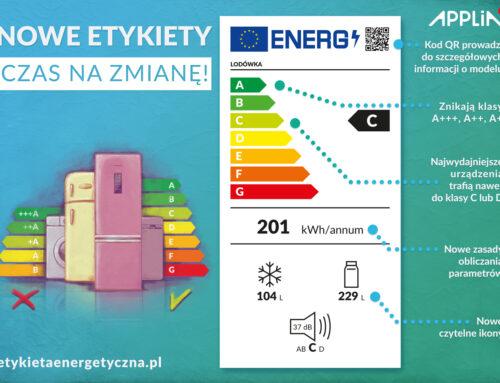 Nowe etykiety energetyczne. Jak je czytać?