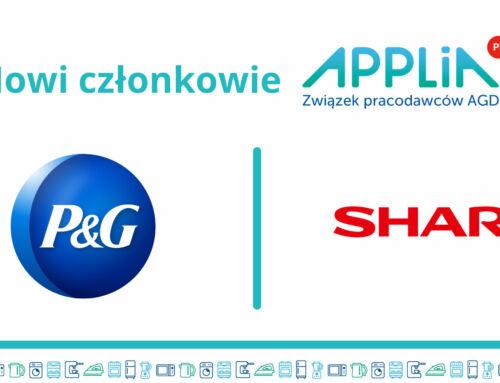 Sharp oraz P&G nowymi członkami APPLIA